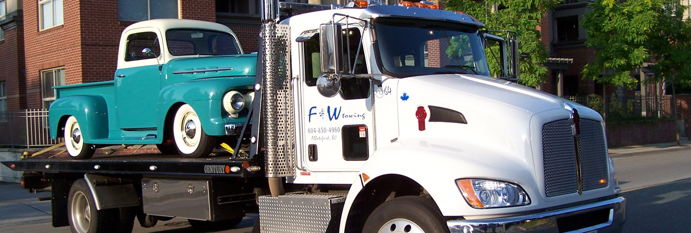 FW Towing Services Abbotsford